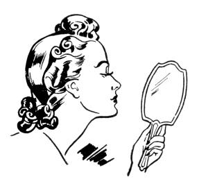 mirror-lady